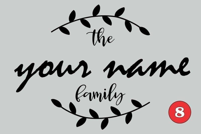 Family Board Melamine on MDF FB8