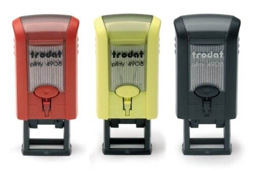 Rubber Stamp Printy 4908